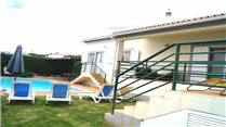 Villa-in-Alcalar-Portimao-Algarve-Portugal---Home41083-Rear-house,-lawn-and-pool